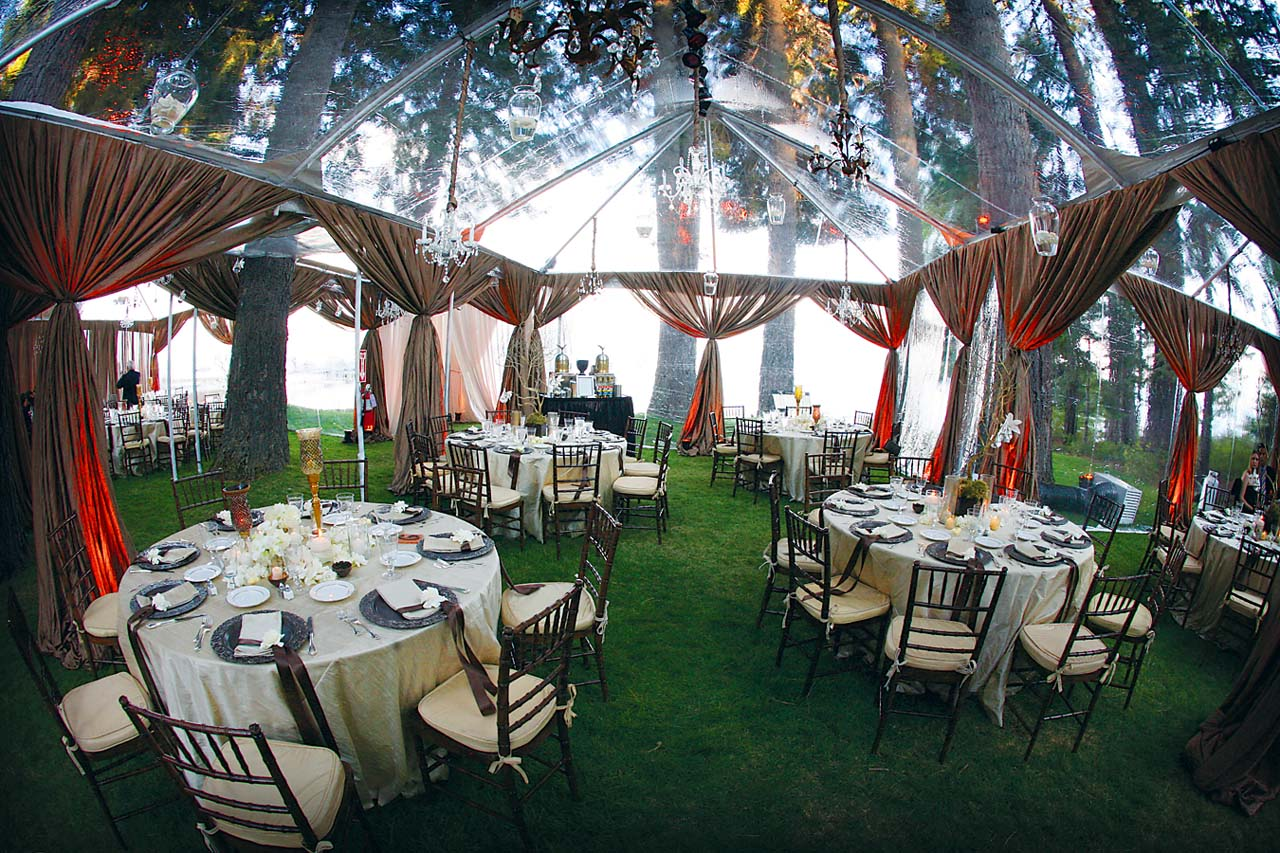 See thru tent & See thru tent - Party Rental Miami