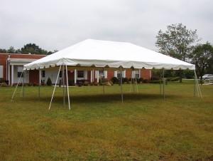 20 x 30 tent alone