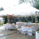 20x20 With Chairs and tables Linens