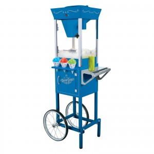 snow cone concession machines cart