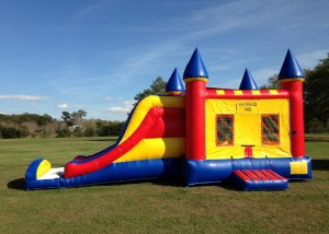 3 in 1 combo bounce house