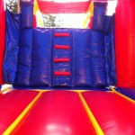 bounce house stairs
