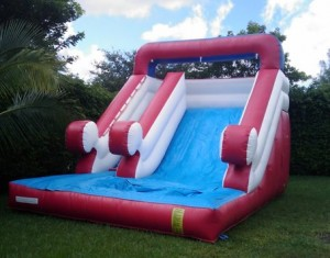 big red water slide rentals