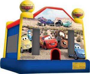 cars full face bounce house