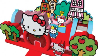 hello kitty toddler bounce house
