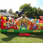 mickey mouse fun house toddler bounce house