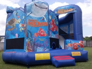 finding nemo 5 in combo bounce house