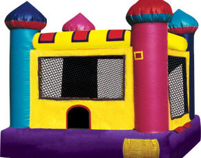 mini caslte small bounce house