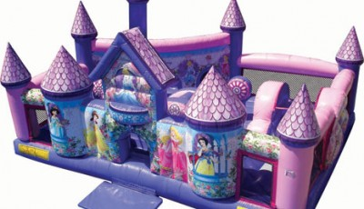 princess palace toddler inflatable