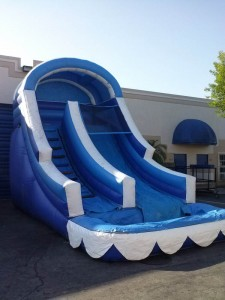 big blue water slide rentals