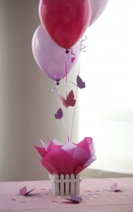 balloon center piece decoration