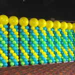 balloon column decorations
