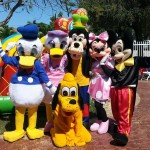 mickey mouse and friends character rental miami