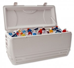 cooler rental with drinks