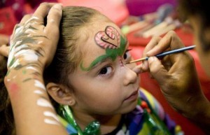face painting in miami