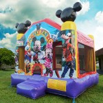 mickey ful face bounce house