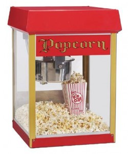 pop corn concession machines