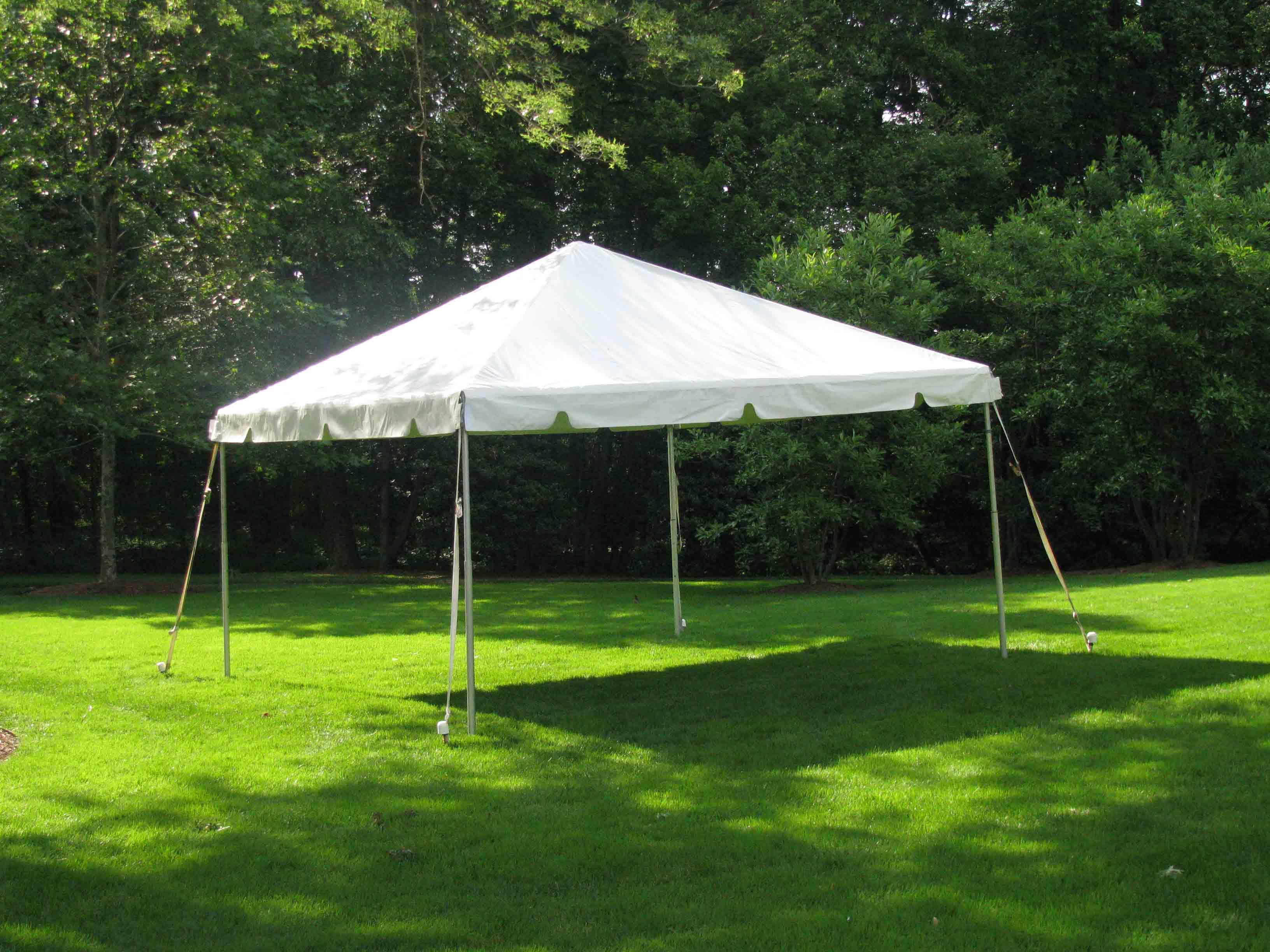 15 X Framed Tent Rentals
