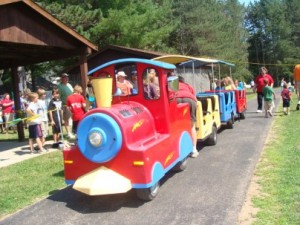 trackless train party entertainment