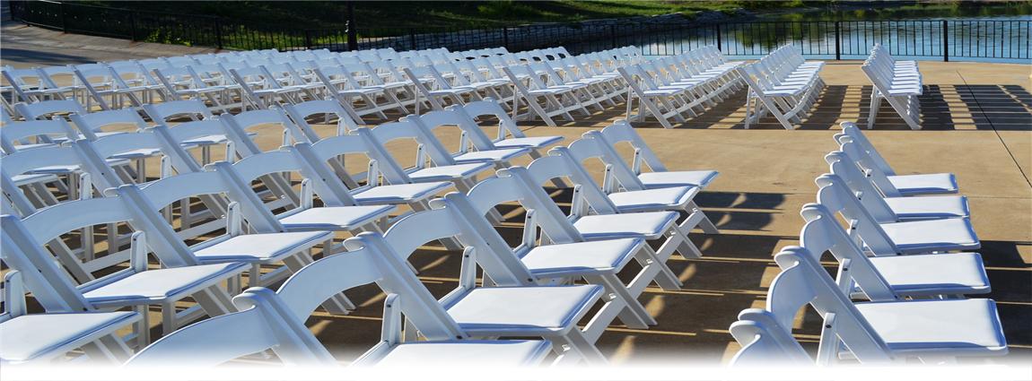 wedding folding chairs