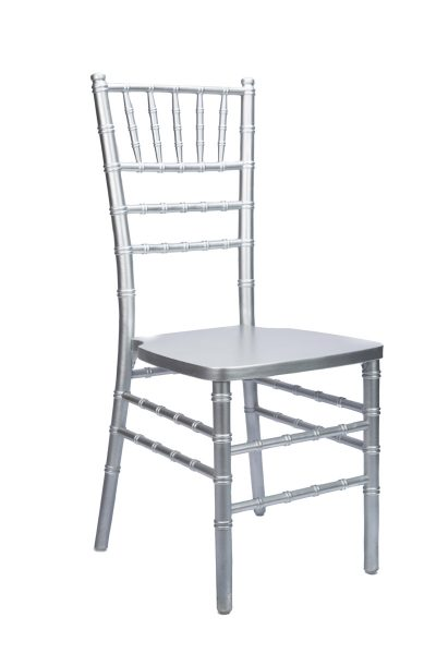 silver chiavari chair rentals in miami