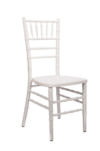 white chair chiavari chair rentals in miami