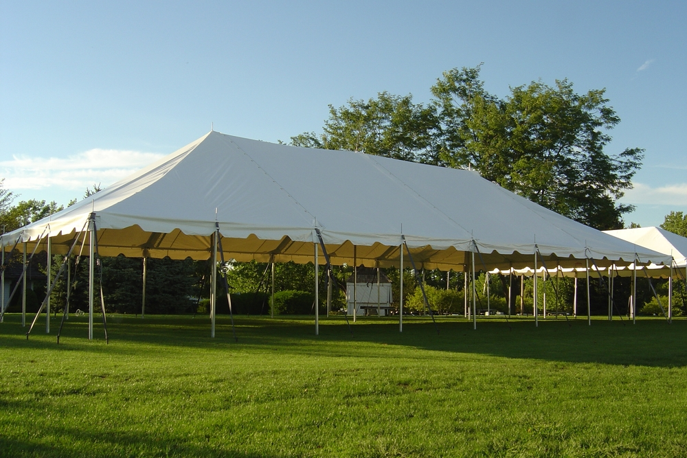 white frame tent rentals in miami