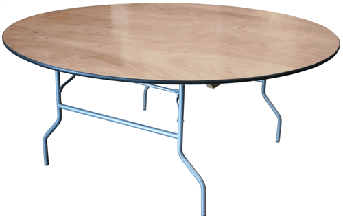 72 inch banquet round table rentals in miami