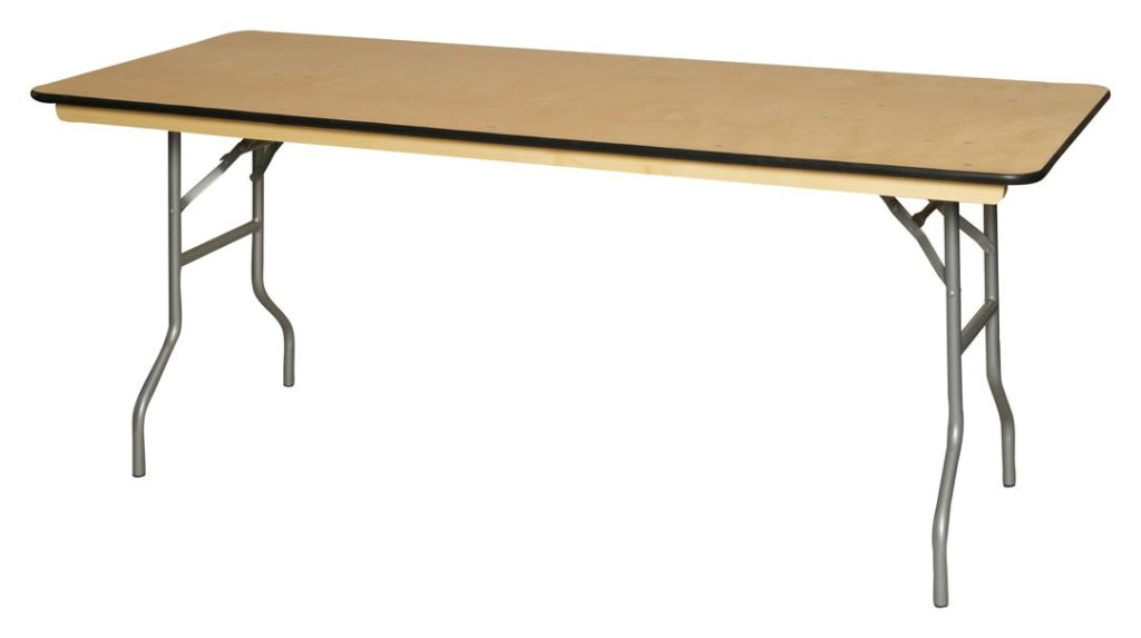 8 foot rectangular table rentals in miami