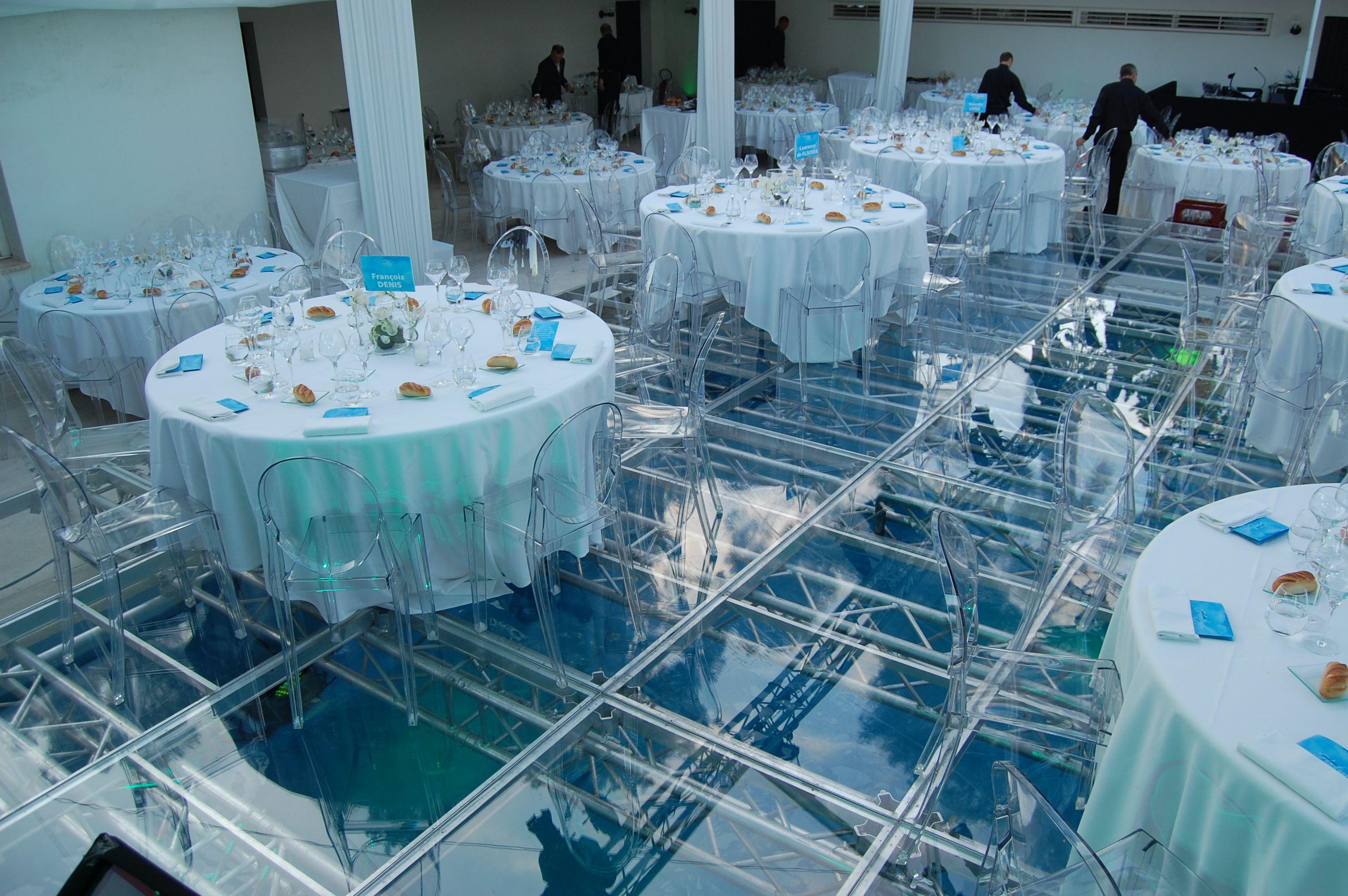 acrylic wedding pool cover rental in miami