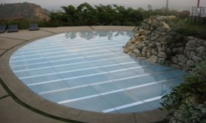 plexi glass acrylic pool cover rentals in miami