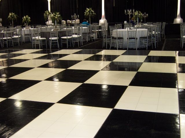 checkered dance floor rentals in miami