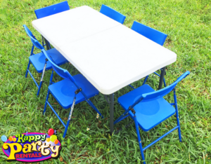 kids folding chairs rentals and tables in miami