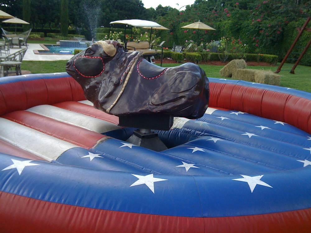 mechanical bull interactive mechanical rides rentals