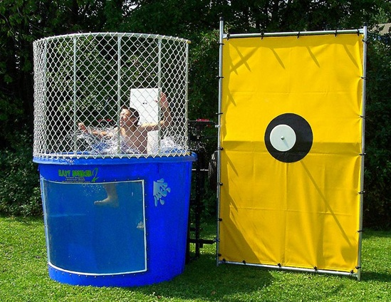 carnival mechanical dunk tank rentals miami