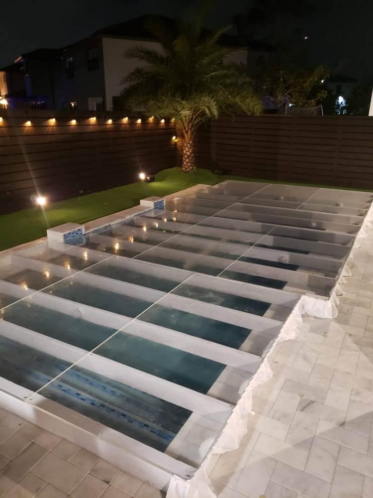 pool cover dance floor rentals