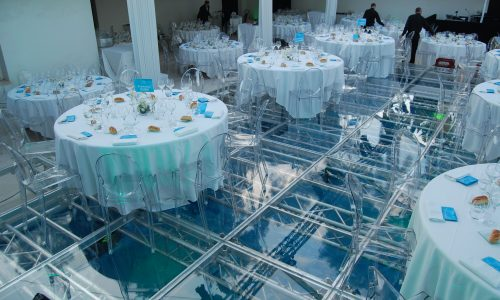 acrylic wedding pool cover rental in miami