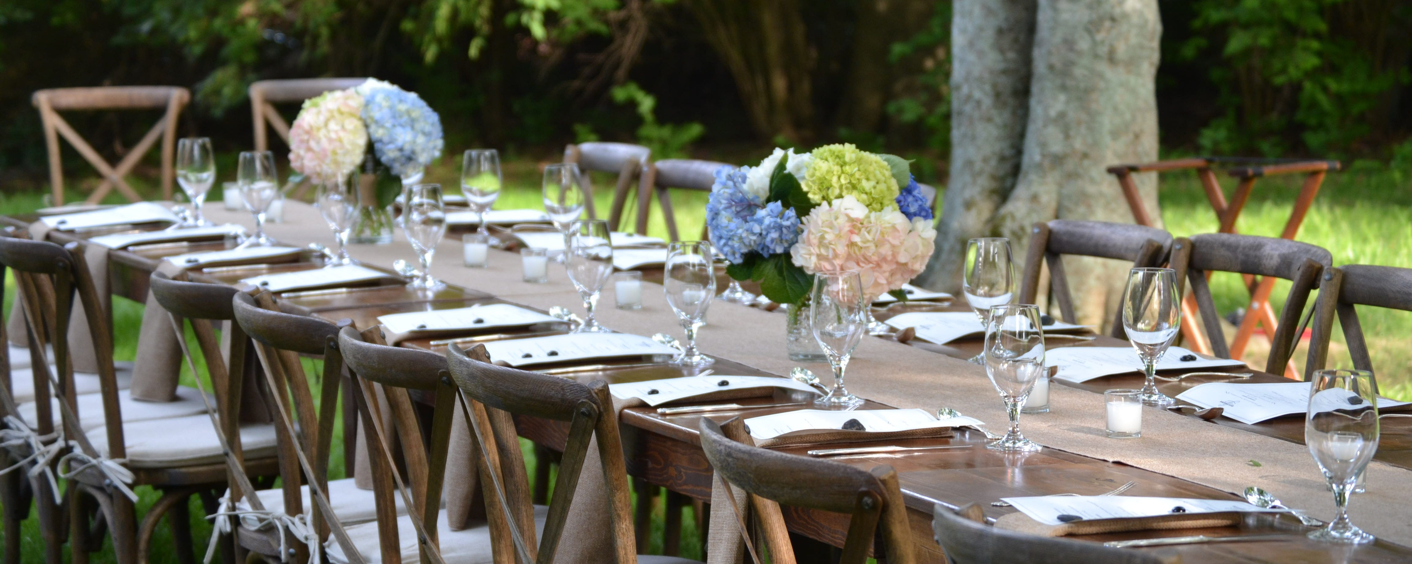 rustic event rentals in miami