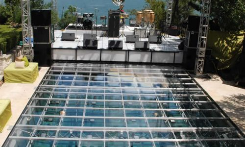 south florida pool cover dance floor rentals in miami