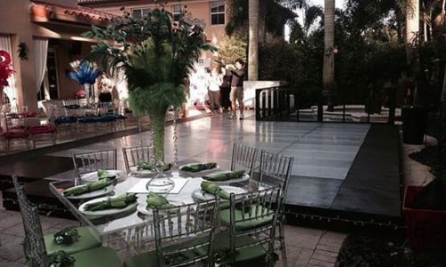 wedding ceremony dance floor for rentals in broward