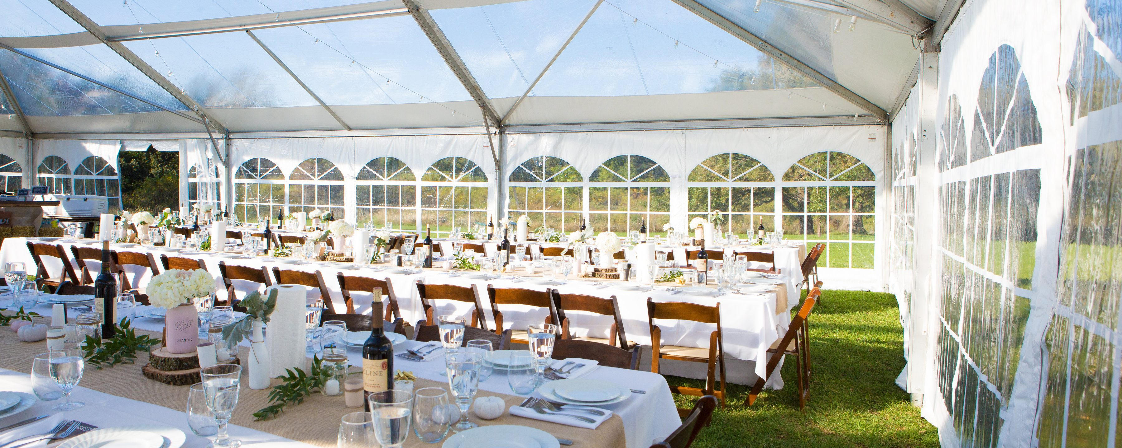 Clear tent rentals in miami